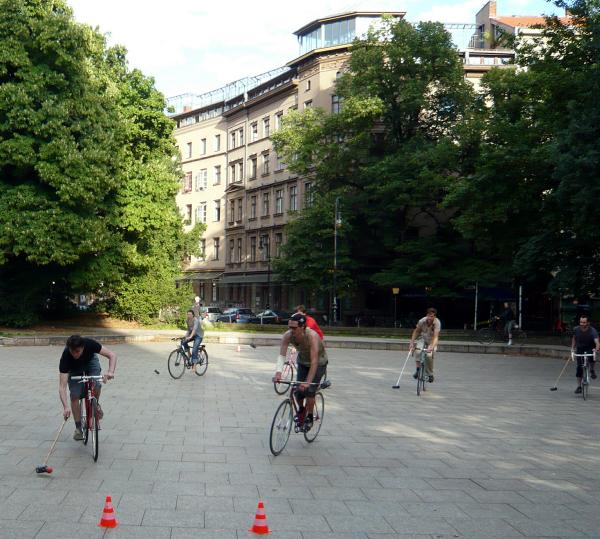 Bikepolo in Berlin