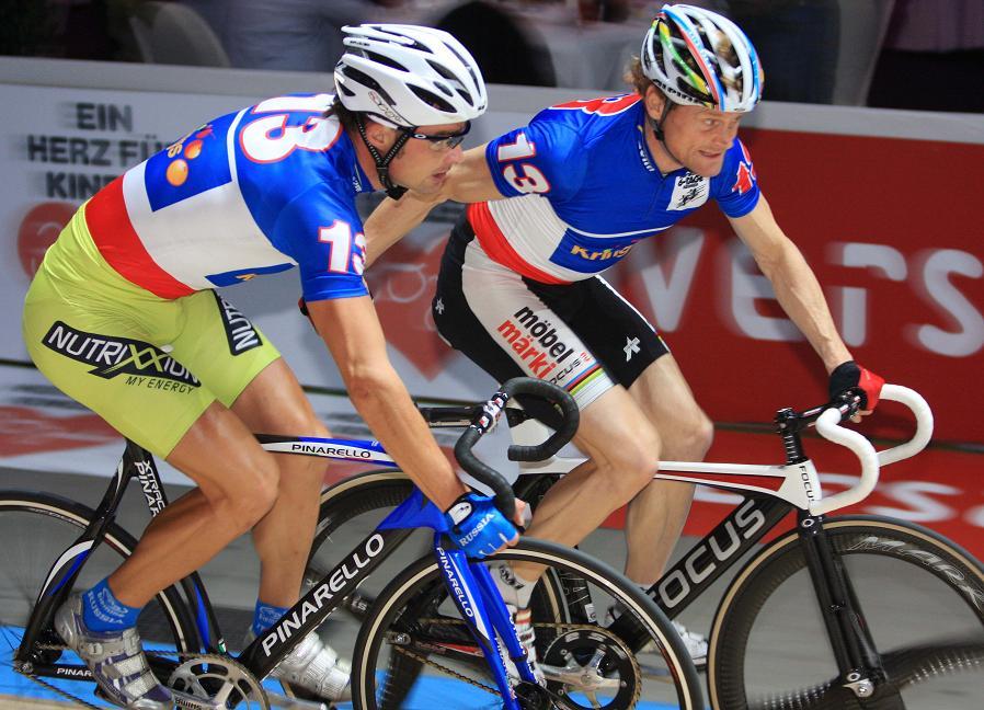 Neues Team seit Samstag: Bruno Risi und Alexei Marcov (Foto: Christina P. Kelkel, C-Photo-K)