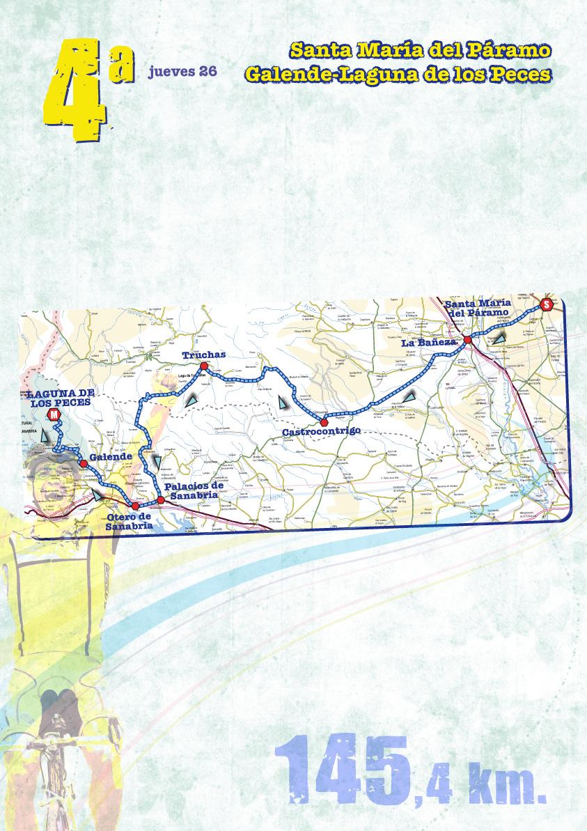 Streckenverlauf Vuelta a Castilla y Leon 2009 - Etappe 4