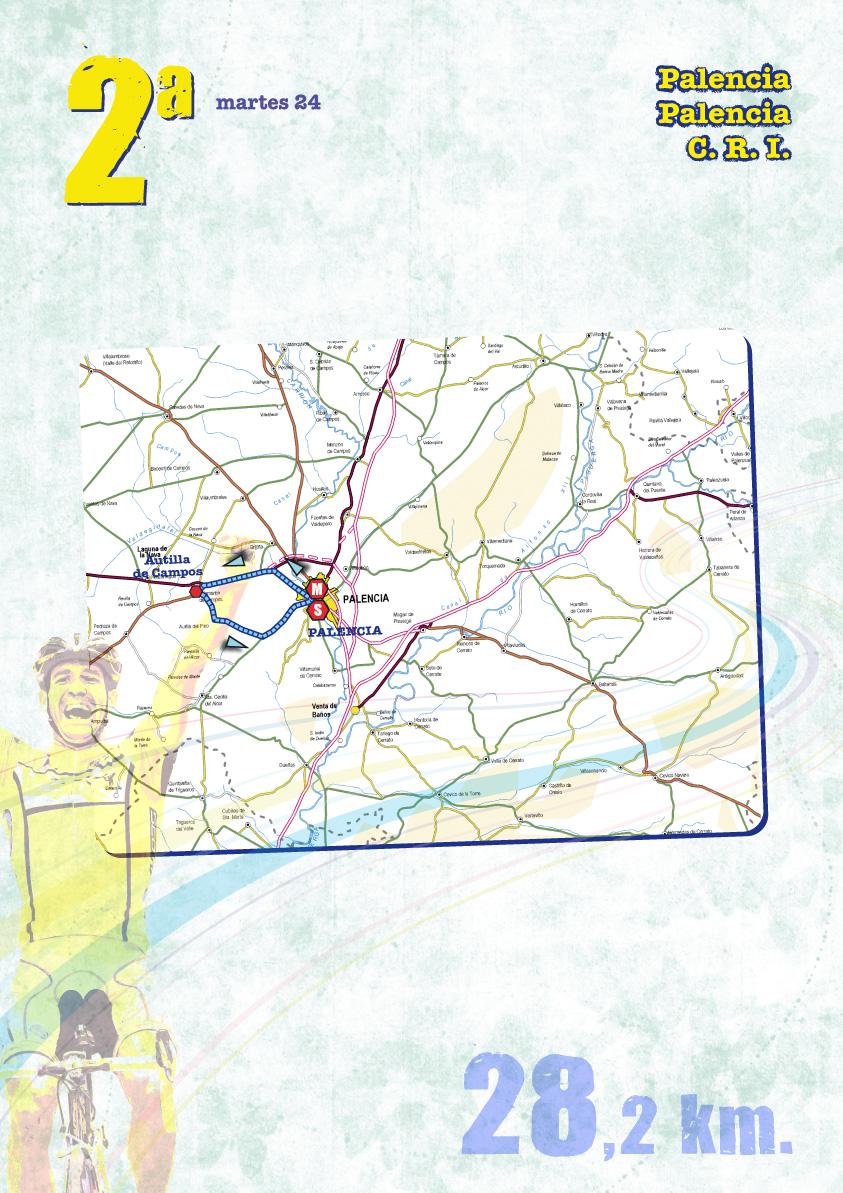 Streckenverlauf Vuelta a Castilla y Leon 2009 - Etappe 2