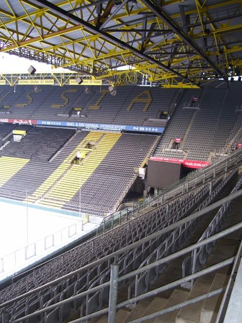 Normalerweise trägt hier der BVB seine Heimspiele aus