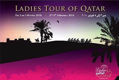 Rasa Lelivyte gewinnt Auftakt der Ladies Tour of Qatar - Sarah Düster Gesamt-6.; 2010