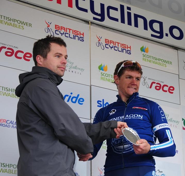 Der Dritte der letzten Etappe: Steve Lampier (Pendragon-Le Col) (© Bennet G. Wright)