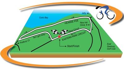 Rundkurs Jayco Bay Cycling Classic 2011 - Etappe 1