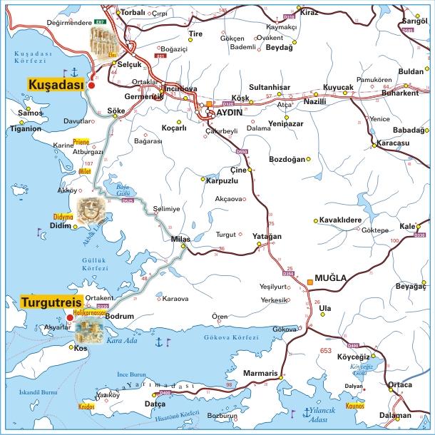 Streckenverlauf Presidential Cycling Tour of Turkey 2011 - Etappe 2