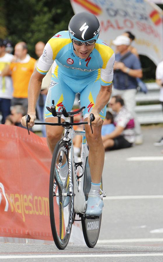 Rodriguez bleibt 1 Sekunde vor Contador - Kessiakoff gewinnt Vuelta-Zeitfahren