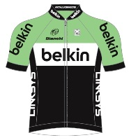 Trikot Belkin - Pro Cycling Team (BEL) 2014