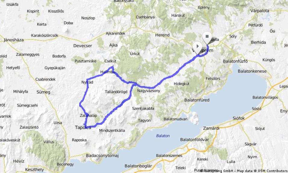 Streckenverlauf Carpathian Couriers Race U-23 2014 - Etappe 1