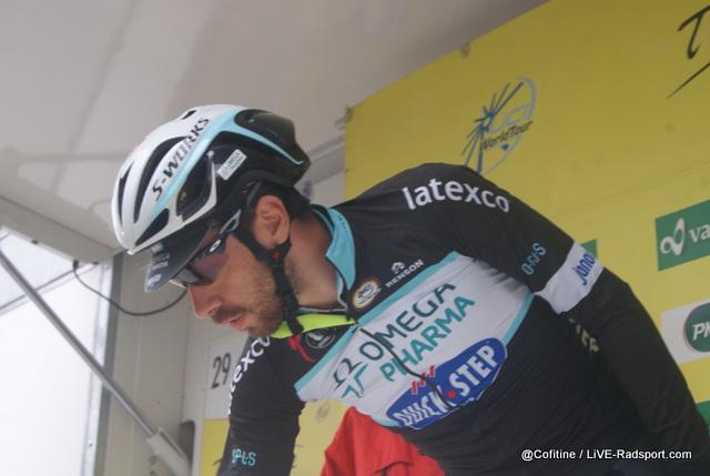 Thomas De Gendt schreibt sich in Fribourg zur 4. Etappe ein