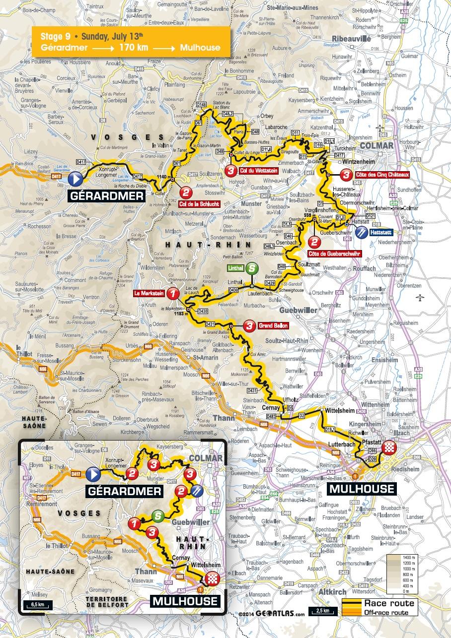 Tour De France Streckenverlauf