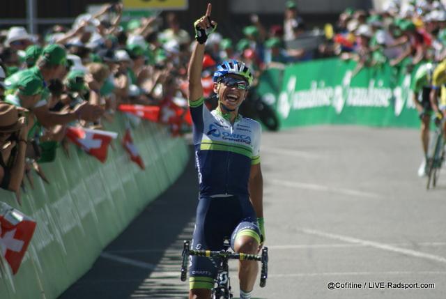 Johan Chaves gewinnt die 7. Etappe der Tour de Suisse in Verbier