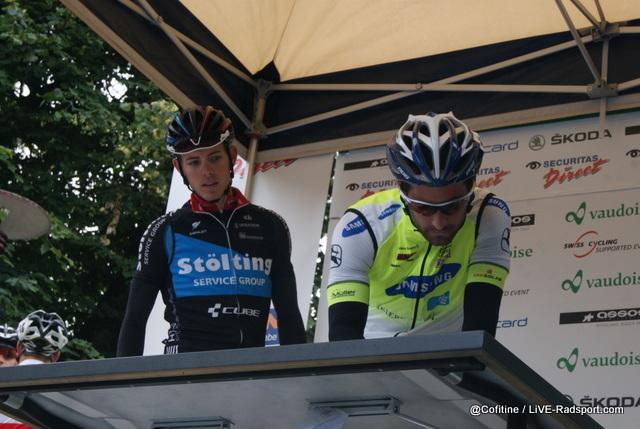 Mirco Saggiorato und Tristan Marguet bei der Einschreibung zur Schweizer Meisterschaft
