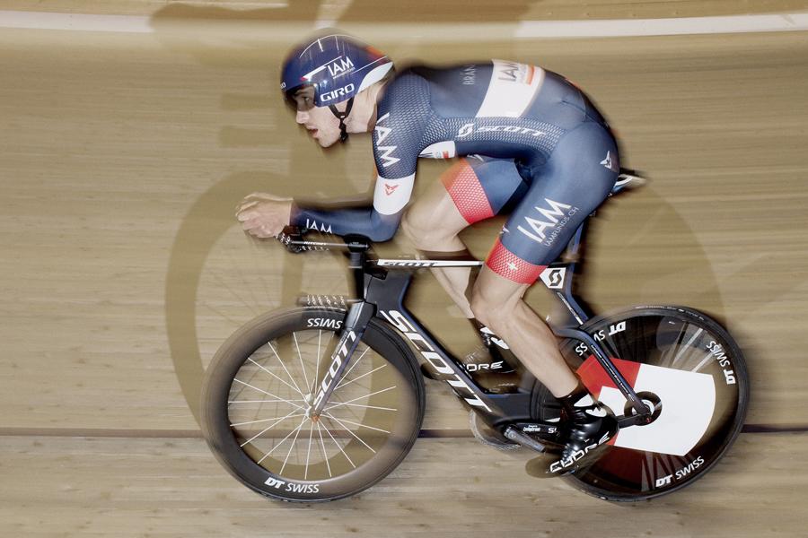 Matthias Brändle knackt Stundenweltrekord! (Foto: IAM Cycling)