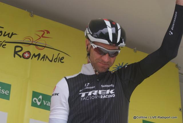 Jens Voigt bei der Tour de Romandie 2014
