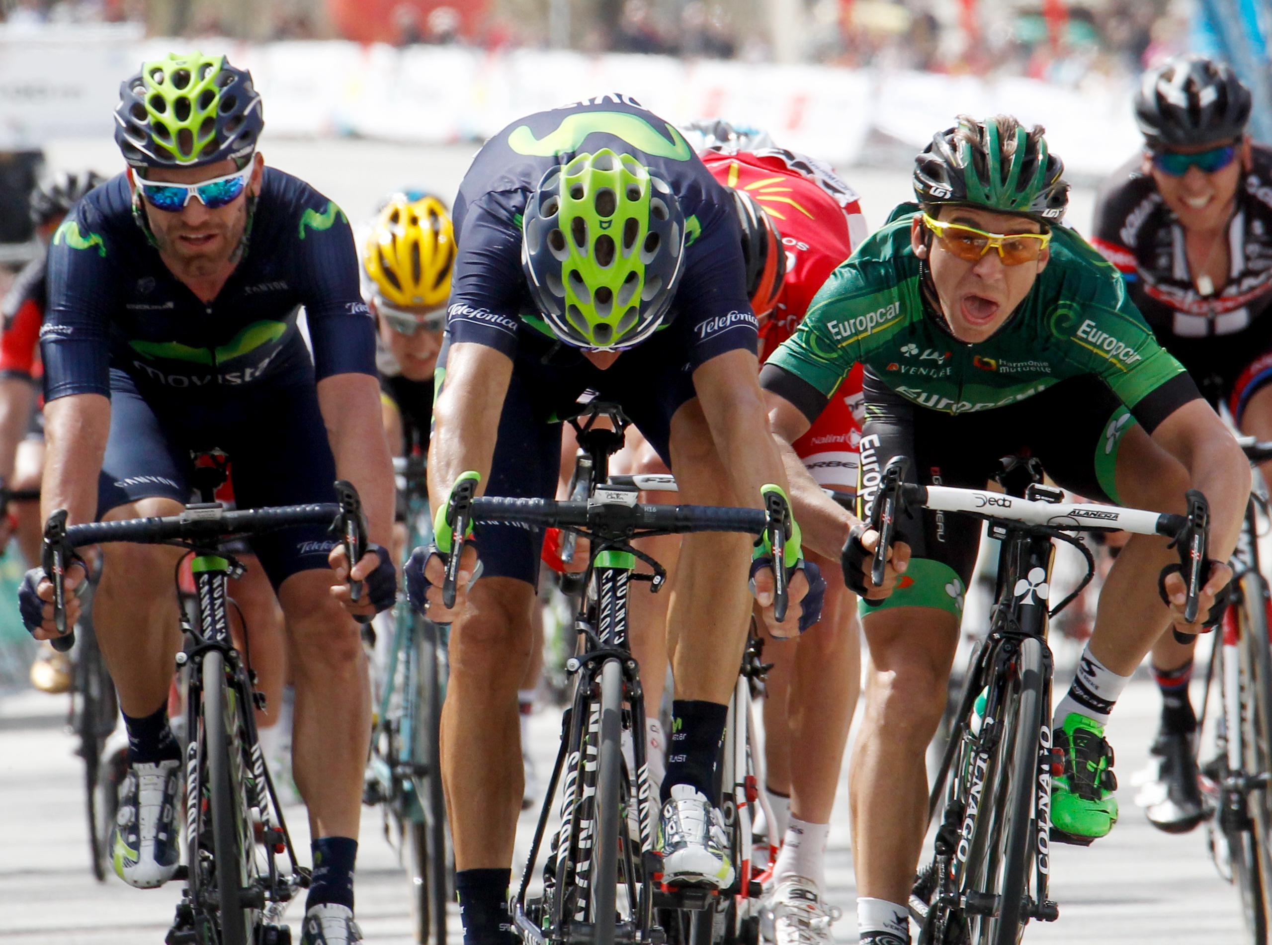 Porte trotz Valverdes 3. Etappensieg mit 4 Sekunden Vorsprung Gewinner der Katalonien-Rundfahrt