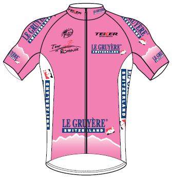 Reglement Tour de Romandie 2015 - Rosa Trikot (Bild: Veranstalter)
