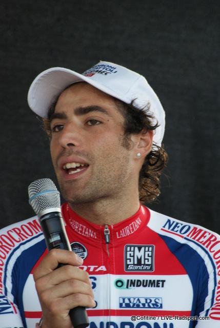 Davide Appollonio bei der anschließenden Pressekonferenz