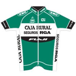 Trikot Caja Rural - Seguros RGA (CJR) 2016 (Bild: UCI)
