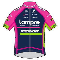 Trikot Lampre – Merida (LAM) 2016 (Bild: UCI)