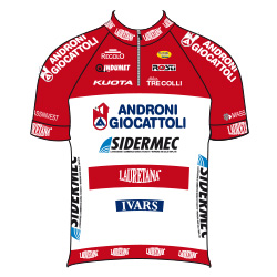 Trikot Androni Giocattoli – Sidermec (AND) 2016 (Bild: UCI)