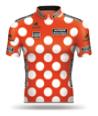 Reglement Critérium du Dauphiné 2016 - Rotes Trikot mit weißen Punkten (Bergwertung)