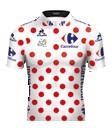 Reglement Tour de France 2016: Weißes Trikot mit roten Punkten (Bergwertung)
