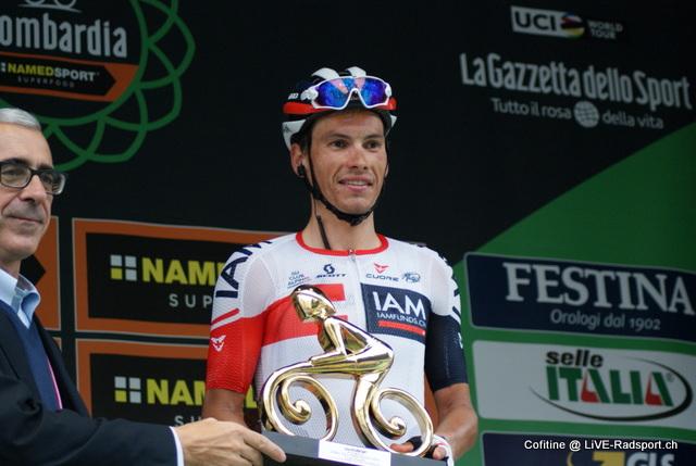 Ehrung beim Rennen Il Lombardia 2016