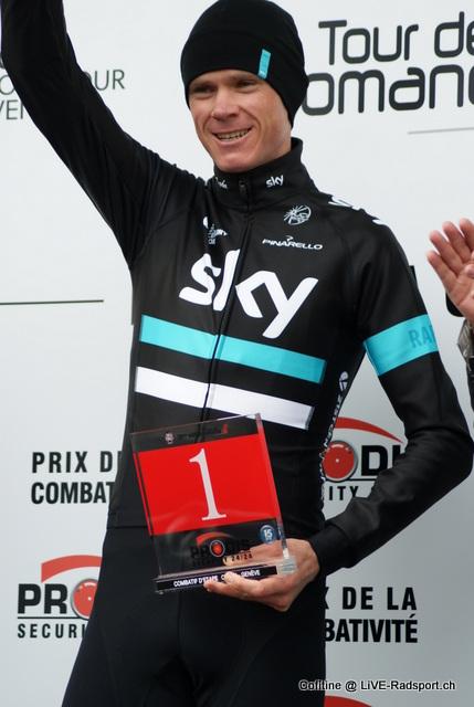 Platz 2 im LiVE-Radsport Jahresranking 2016: Chris Froome