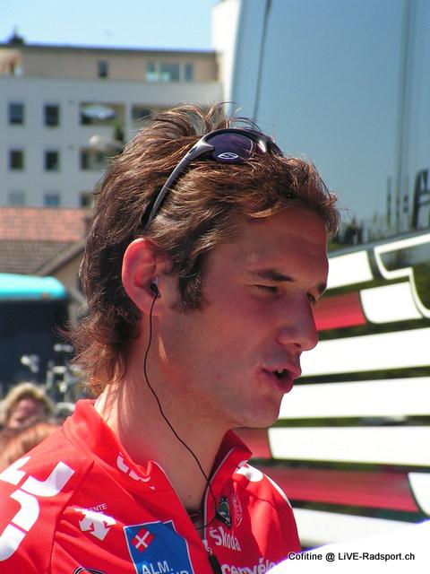 Vor 10 Jahren ... Fränk Schleck im Juni 2006
