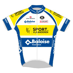 Trikot Sport Vlaanderen – Baloise (SVB) 2017 (Bild: UCI)