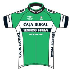 Trikot Caja Rural – Seguros RGA (CJR) 2017 (Bild: UCI)