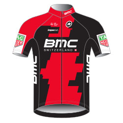 Trikot BMC Racing Team (BMC) 2017 (Bild: UCI)