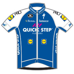 Trikot Quick-Step Floors (QST) 2017 (Bild: UCI)