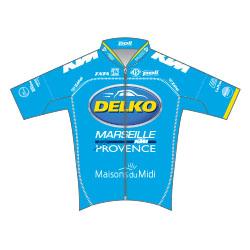 Trikot Delko Marseille Provence KTM (DMP) 2017 (Bild: UCI)