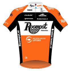 Trikot Roompot – Nederlandse Loterij (RNL) 2017 (Bild: UCI)