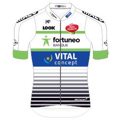 Trikot Fortuneo – Vital Concept (FVC) 2017 (Bild: UCI)