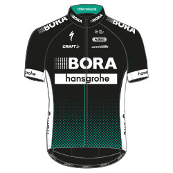 Trikot Bora – Hansgrohe (BOH) 2017 (Bild: UCI)