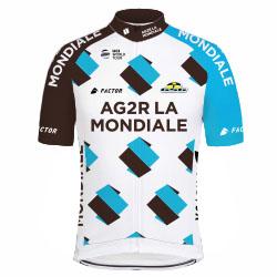 Trikot AG2R La Mondiale (ALM) 2017 (Bild: UCI)