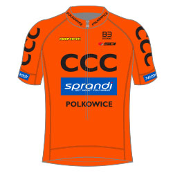 Trikot CCC Sprandi Polkowice (CCC) 2017 (Bild: UCI)