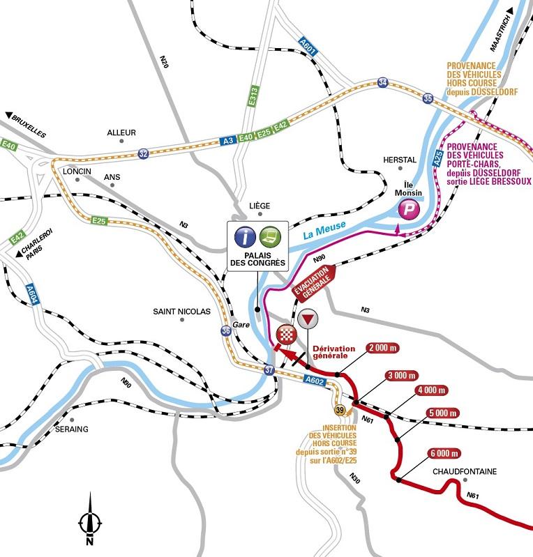 übersicht Aller Streckenkarten Tour De France 2017 Letzte Kilometer