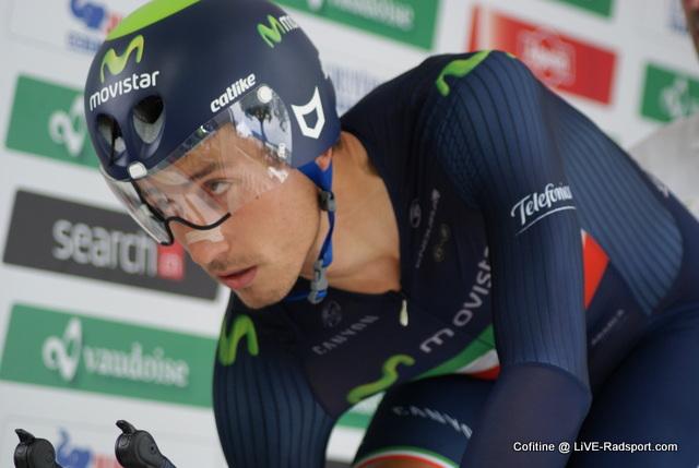 Adriano Malori bei der Tour de Suisse 2015