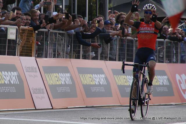 Vincenzo Nibali gewinnt wie schon vor zwei Jahren in Como