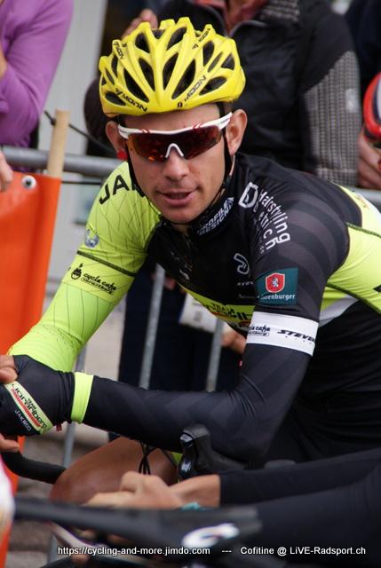 der junge Schweizer Fabian Lienhard - hier bei der Tour du Doubs 2017 - fährt nächste Saison im Trikot von Holowesko-Citadel