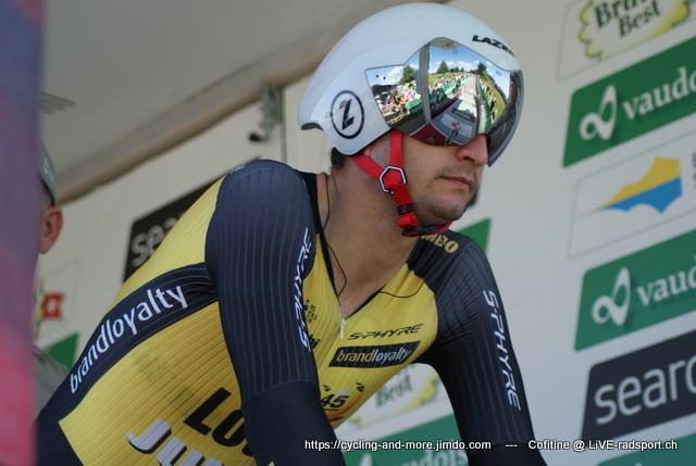 Juan Jose Lobato - hier bei der Tour de Suisse 2017 - wurde von seinem Team entlassen