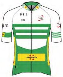 Reglement Volta Ciclista a Catalunya 2018 - Weiß-grünes Trikot (Gesamtwertung)