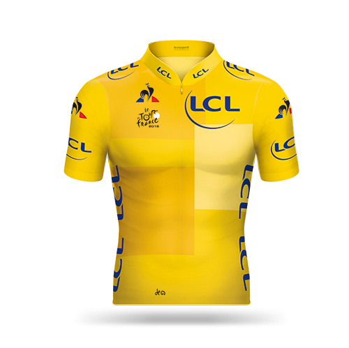 Reglement Tour de France 2018 - Gelbes Trikot (Gesamtwertung)