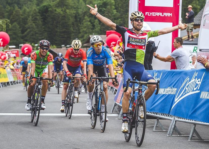 2. Sprintsieg von Giovanni Visconti (Foto: Expa Pictures)