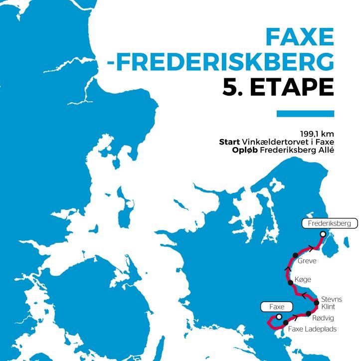 Streckenverlauf PostNord Danmark Rundt 2018 - Etappe 5