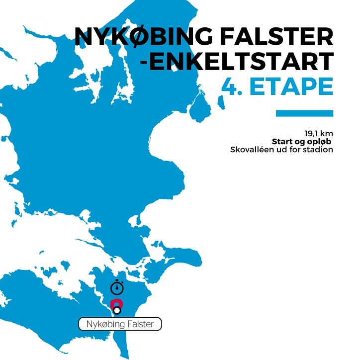 Streckenverlauf PostNord Danmark Rundt 2018 - Etappe 4