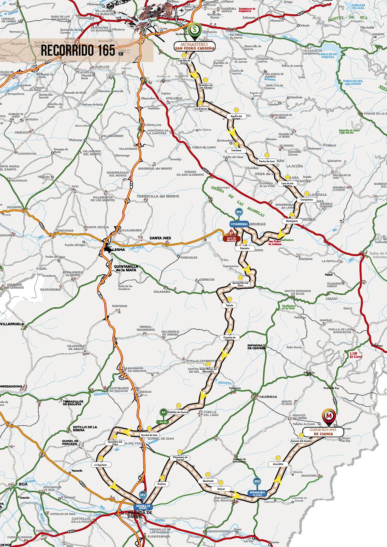 Streckenverlauf Vuelta a Burgos 2018 - Etappe 4